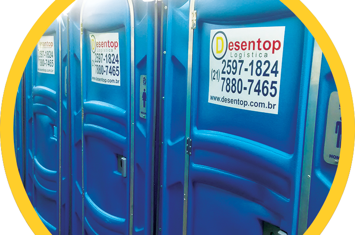 Aluguel de Banheiro Químico para a Zona Oeste do Rio de Janeiro